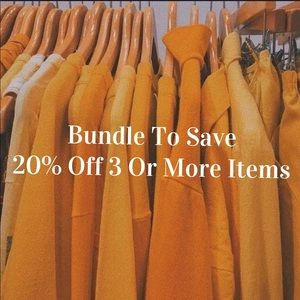 Other - 🌟20% Off 3 Or More Items🌟